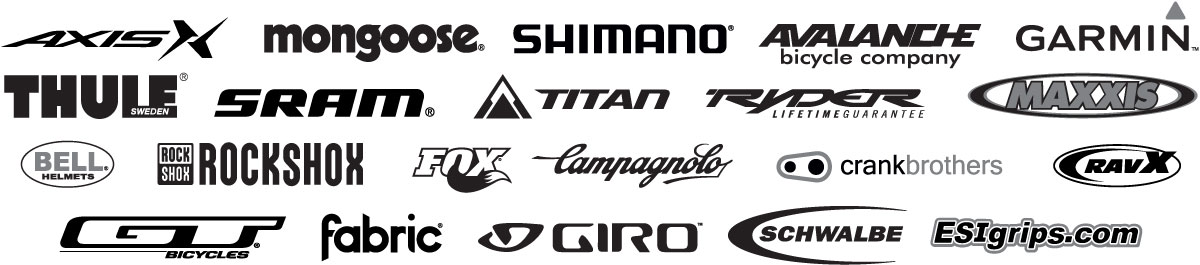 Proud stockists of these brands