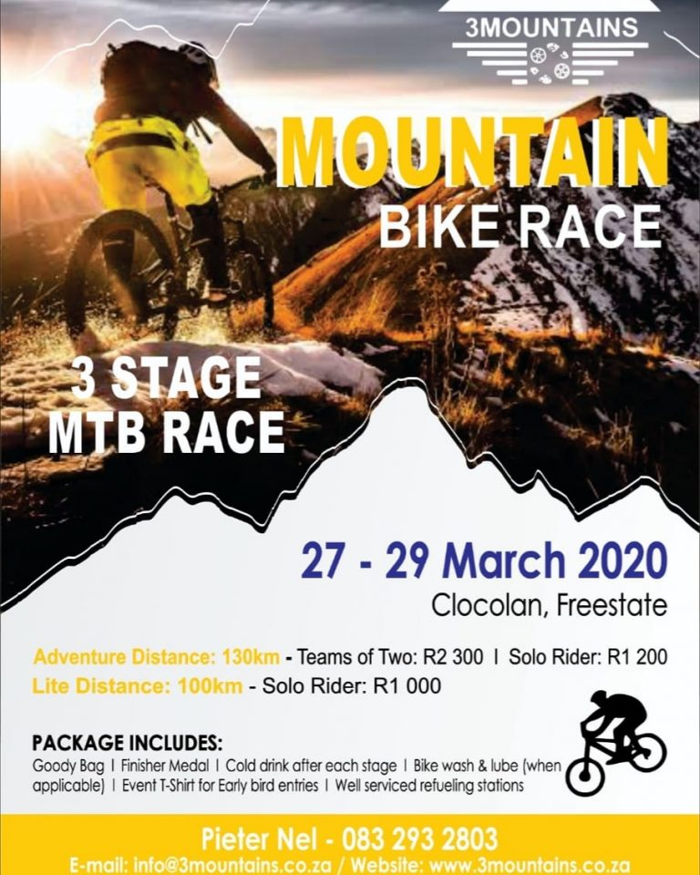 2020 3 Mountain 3 Stage MTB Race