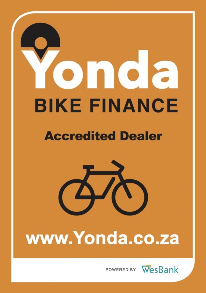 Cycle World Bloemfontein has you covered with financing options from Yonda