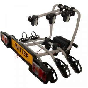 Witter Clamp-On Towball Mounted 3 Bike Cycle Carrier