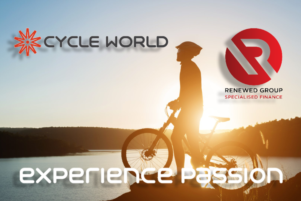 Cycle World has teamed up with Renewed Group to offer you specialsed bicycle financing