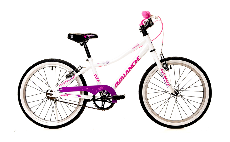 Avalanche Antix Girls 20 Inch White and Pink
