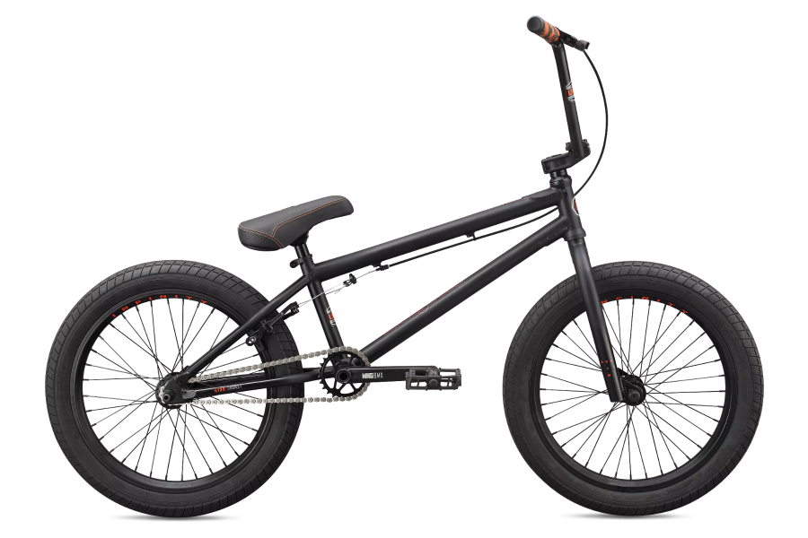 Push your limits and test your skills on our flagship BMX bike with the Legion L500. This men's & women's BMX bike has a Mongoose full 4130 Chromoly frame, removeable brake mounts, and mid BB shell